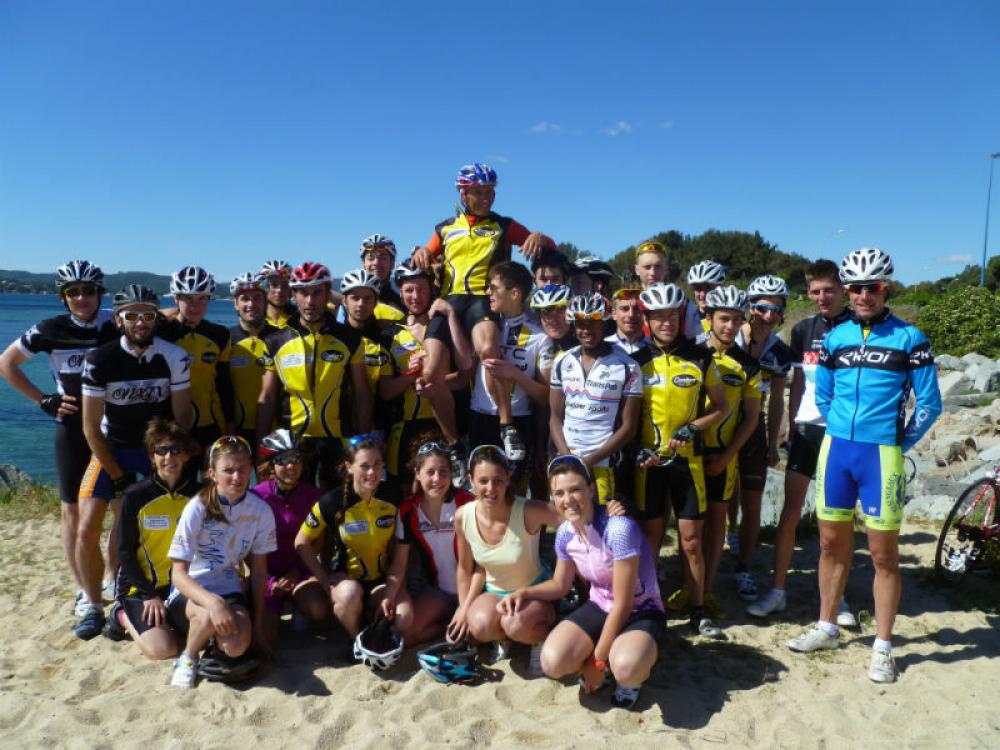 Le club - Stage Triathlon 2014